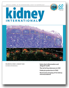 Kidney International (KI) is the official journal of the International Society of Nephrology