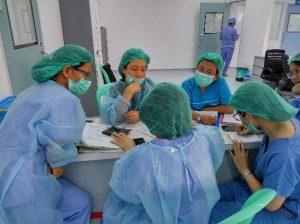 Dr Yi Yi Khin, from Yangon Children's Hospital (YCH) in Myanmar