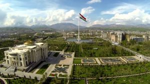 Dushanbe, capital of the Tajikistan