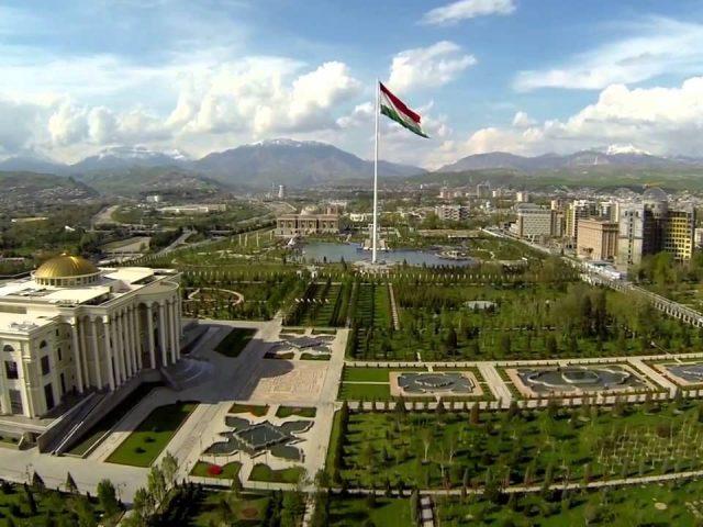 Dushanbe, capital of the Tajikistan