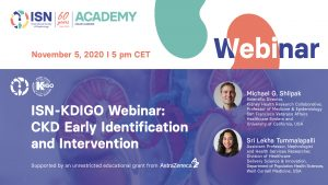 Join our ISN-KDIGO Webinar on Early Identification and Intervention