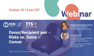 ISN TTS webinar donor recipient cancer