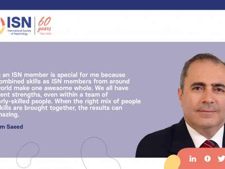 Read Bassam Saeed's story, Member of the ISN