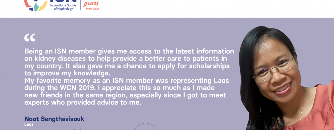 Read Noot Sengthavisouk's story, Member of the ISN