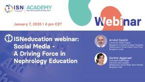 Social media for nephrology education