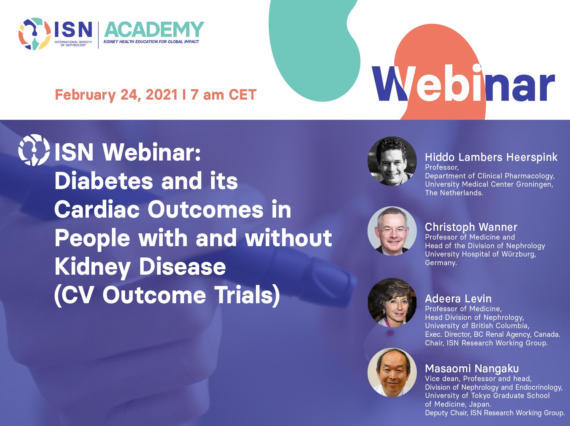 diabetes cardiac outcomes webinar