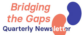 New! Bridging the Gaps – ISN's Advocacy Newsletter