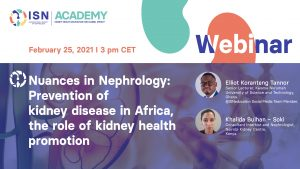 prevention of kidney disease in Africa