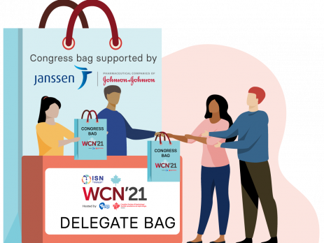 Discover the WCN'21 Delegate bag