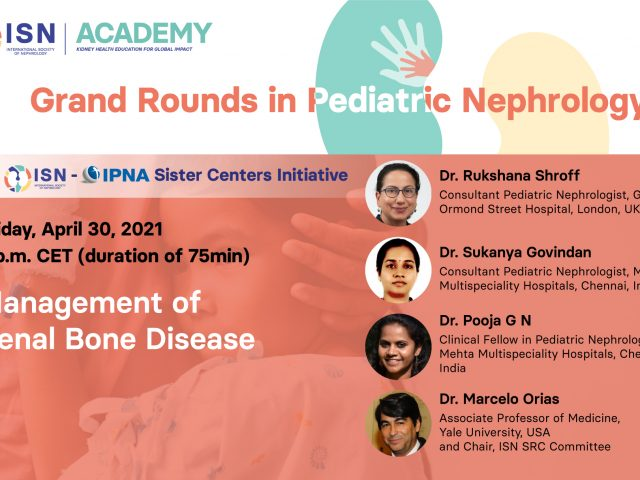 Grand Rounds Pediatric Nephrology bone disease