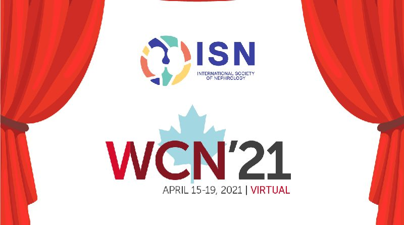 Raising-the-Curtain Sessions Launch Today! Discover the Global Nephrology Community at WCN'21