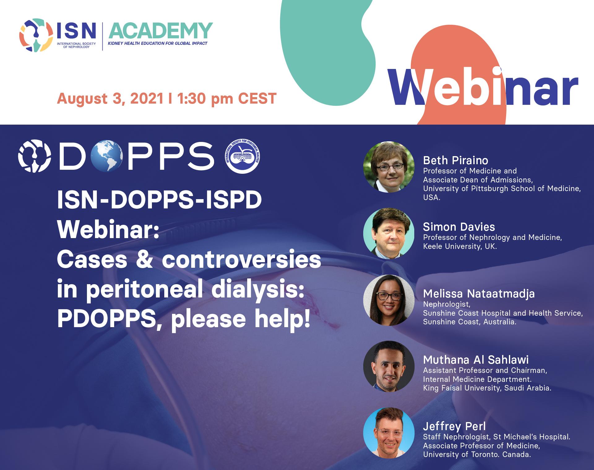 DOPPS webinar PDOPPS PD